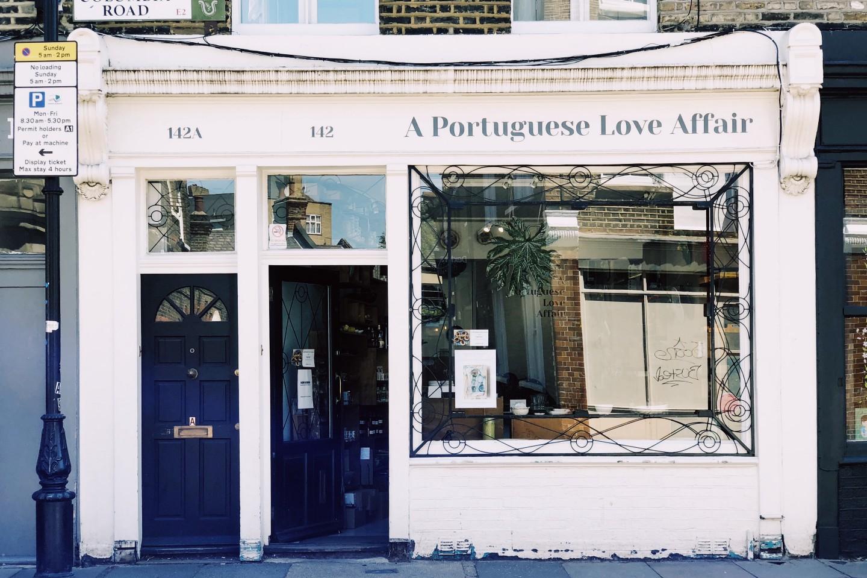 販售葡萄牙風味的東倫敦小店