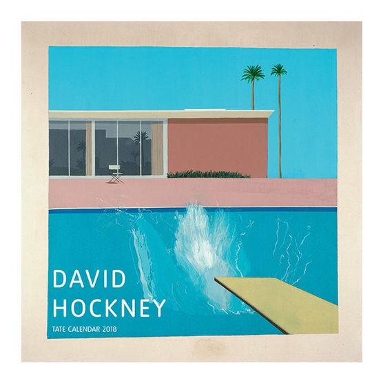 大衛哈克尼月曆 David Hockney