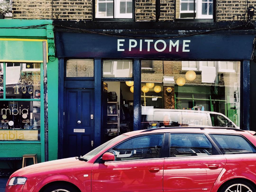 東倫敦花市的小店